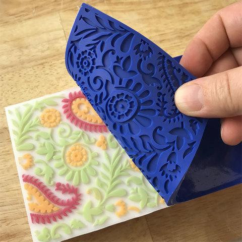 Текстурный лист для мыла Пейсли
