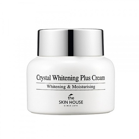 The Skin House Крем осветляющий против пигментации кожи лица Crystal Whitening Plus Cream 50мл