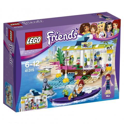 LEGO Friends: Сёрф-станция 41315 — Heartlake Surf Shop — Лего Френдз Друзья Подружки