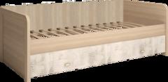 Кровать одинарная с ящиками на 900мм Ультра