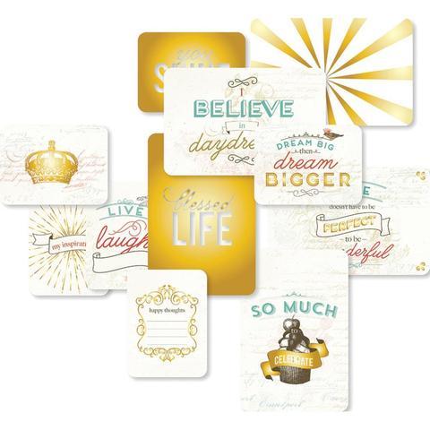 """Набор карточек """"Adventure"""" для Project life 12 шт"""