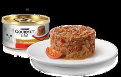 Gourmet Gold Нежные биточки с говядиной и томатами 85 г