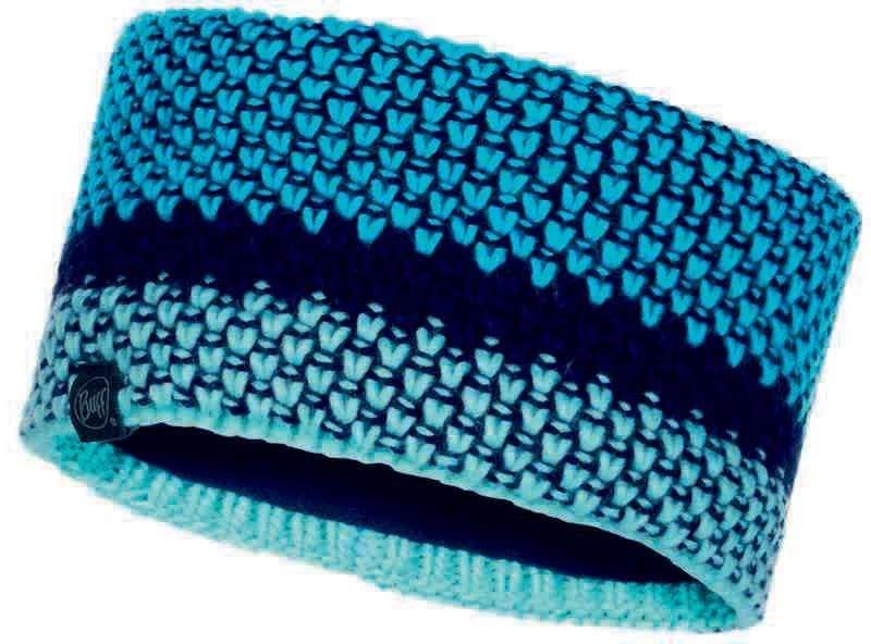 Повязка вязаная Buff Headband Knitted Tilda Curaçao Blue
