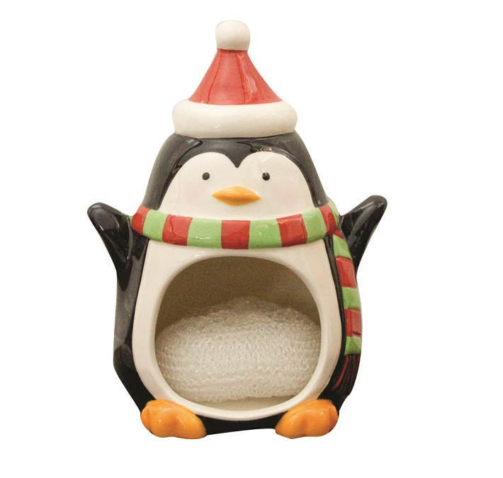 Кухня Держатель для губок/мочалок Boston Warehouse Merry Penguin derzhatel-dlya-gubokmochalok-boston-warehouse-merry-penguin-ssha.jpg