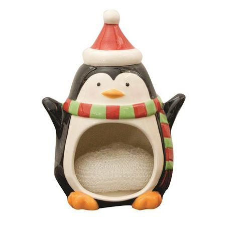 Держатель для губок/мочалок Boston Warehouse Merry Penguin