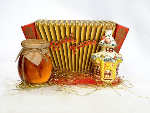 """Подарочный набор """"Чай. Пряничный домик"""""""