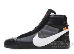 Кроссовки Мужские OFF WHITE x Nike Blazer Mid Grim Reepers