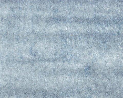 Портьерная ткань Солярис бархат однотонный голубой