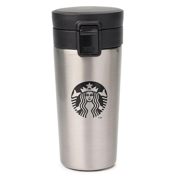 Серебристый вариант цвета кружки Starbucks