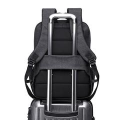Рюкзак с карманами стильный для ноутбука 15,6 КАКА 803 чёрный