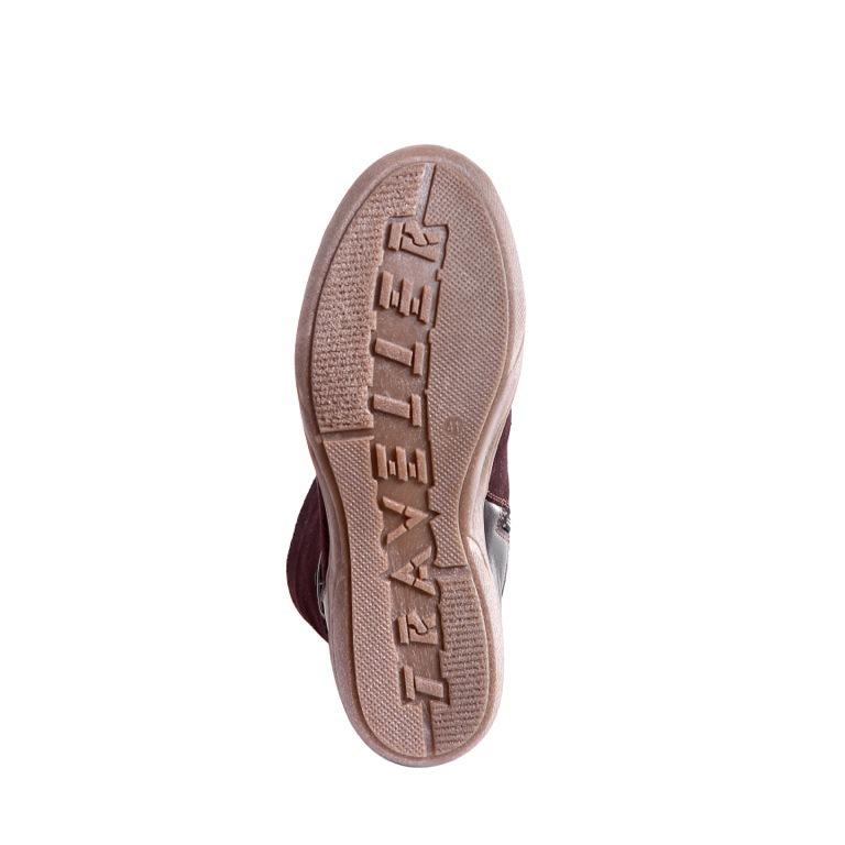 426459 ботильоны женские коричневые больших размеров марки Делфино