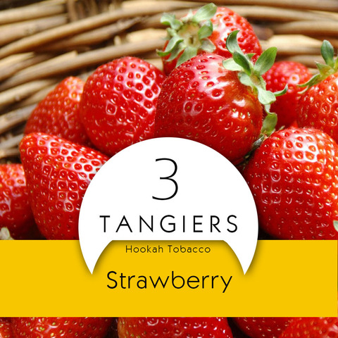 Табак Tangiers 100 г Noir Strawberry
