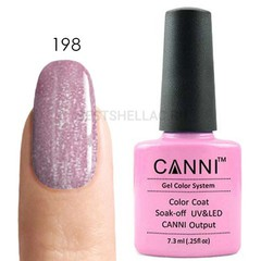 Canni, Гель-лак 198, 7,3 мл