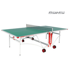 Теннисный стол OUTDOOR ROLLER DE LUXE зеленый