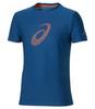 Мужская спортивная беговая футболка Asics Graphic SS Top 134085 8130 синяя