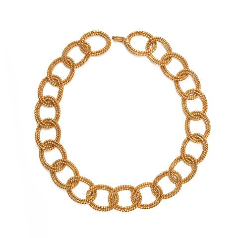 Цепь Chanel с крупными звеньями  |  Chanel Chain-link Necklace
