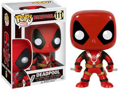 Funko - POP Marvel: Deadpool Two Swords Action Figure