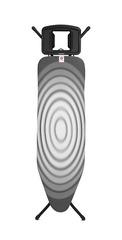 Гладильная доска 124x38 см Brabantia Титановые круги