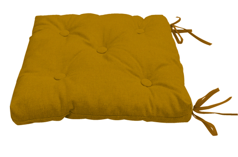 Подушка на стул Адриана горчичный