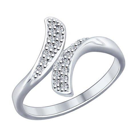 Кольцо из серебра с фианитами SOKOLOV арт.94012146