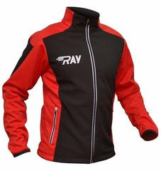 Утепленная лыжная куртка Ray Race WS Black-Red 2018