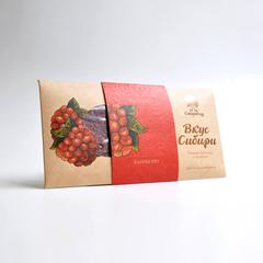Шоколад темный Вкус Сибири с малиной Сибирский Кедр 100 г