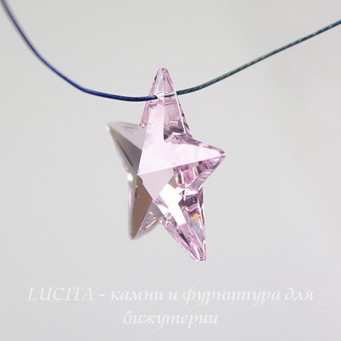 6714 Подвеска Сваровски Звезда Rosaline (20 мм) ()