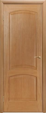 Дверь Двери Белоруссии Капри ПГ, цвет светлый дуб, глухая