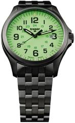 Швейцарские тактические часы Traser P67 OFFICER PRO  GUNMETAL  Lime 107865