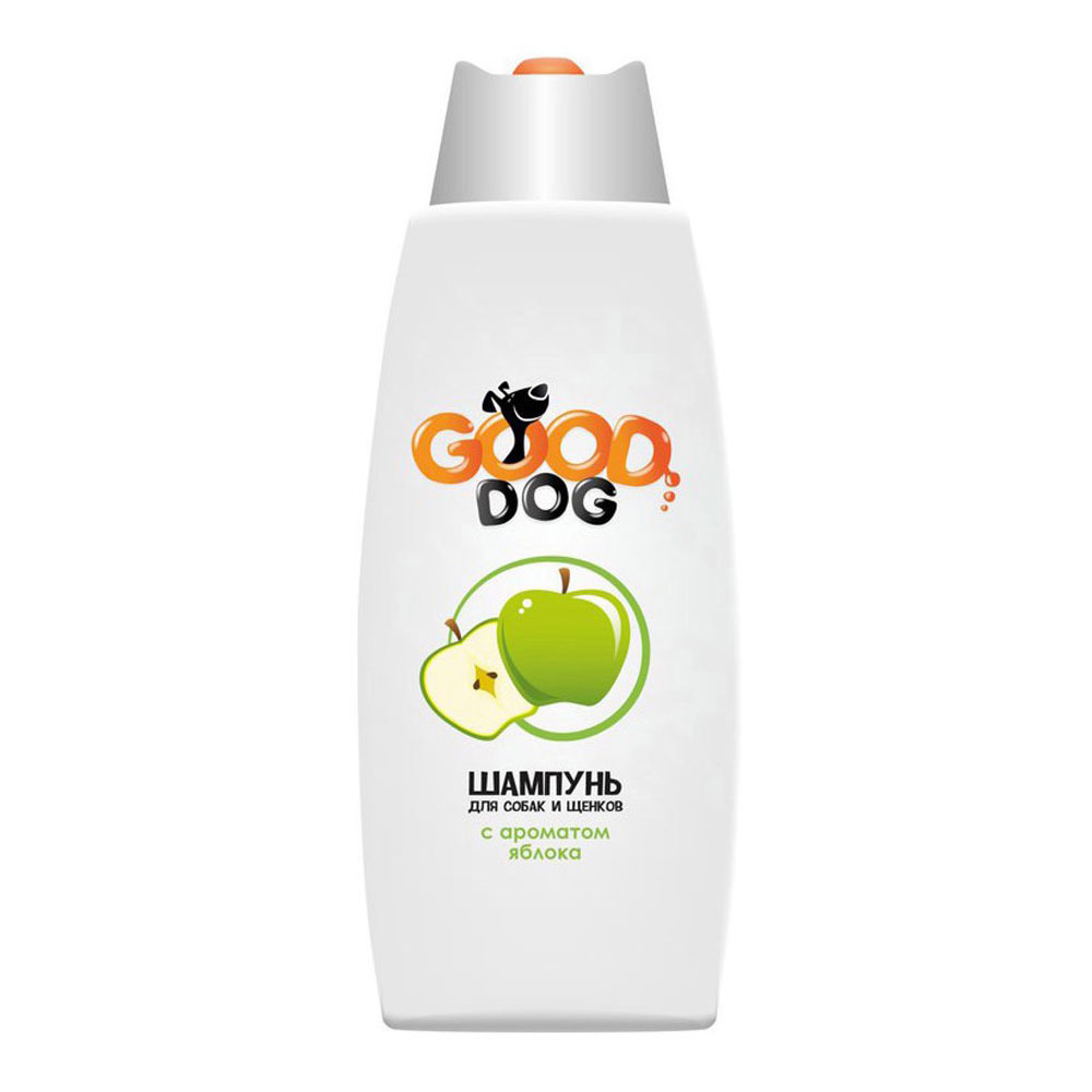 Шампунь для собак и щенков, Good Cat, с ароматом яблока ...