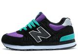 Кроссовки Женские New Balance 574 Black Violet