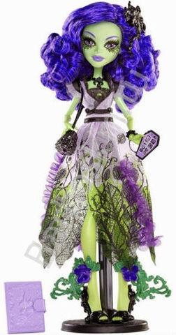 Кукла Monster High Аманита Найтшейд (Amanita Nightshade) - Вечеринка Блум Глум