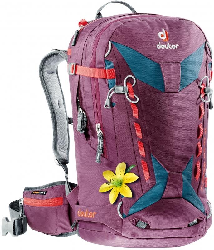 Рюкзаки для фрирайда Рюкзак для сноуборда женский Deuter Freerider Pro 28 SL (2017) 686xauto-8724-FreeriderPro28SL-5309-17.jpg