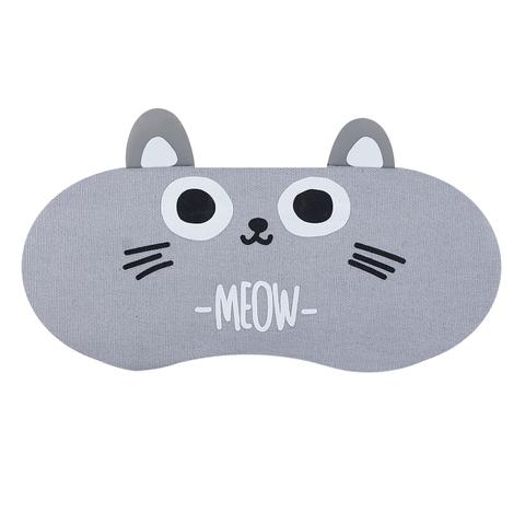 Маска для сна Cat Grey