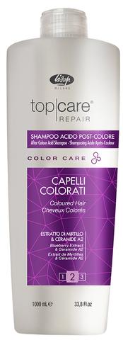 Шампунь Топ Кеар Лисап стабилизатор цвета для волос 1000мл