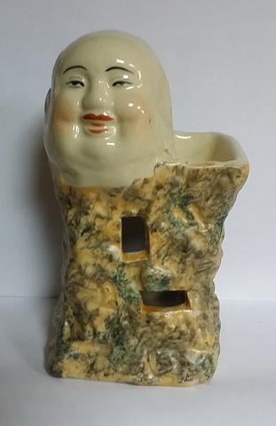 "Аромалампа ""Хотэй - бог изобилия"", керамика 15 см"