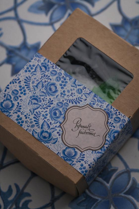 Коробка для упаковки мыла с окошком