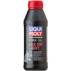 7598 LiquiMoly Синт.масло д/вилок и амортиз. Mottorad Fork Oil Light 5W(0,5л)