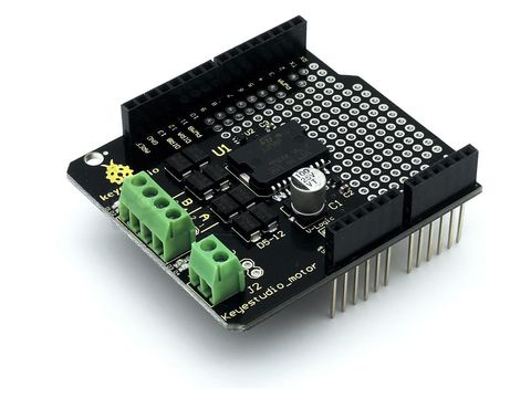 Motor Drive Shield L298P (Keyestudio)