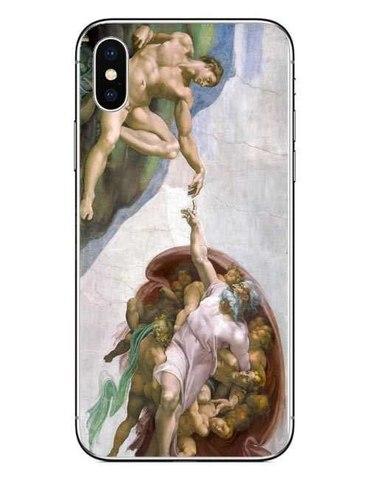 Telefon üzlüyü iPhone 8 plus - Mikelancelo