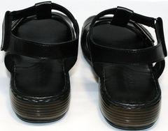 Босоножки женские лето Evromoda 15 Black.