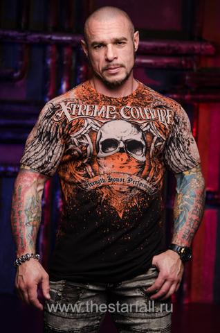 Купить футболку Xtreme Couture от Affliction BOLD CIPHER