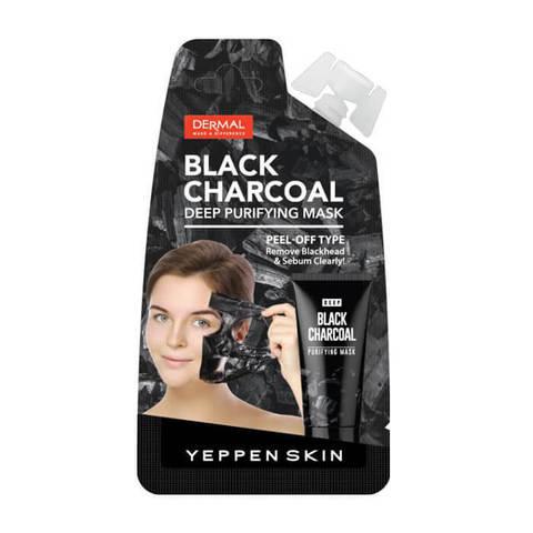 Yeppen Skin Маска-пленка для глубокого очищения лица с углем 20 мл