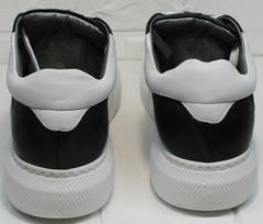 Туфли кеды женские Wollen P337 K71 BW