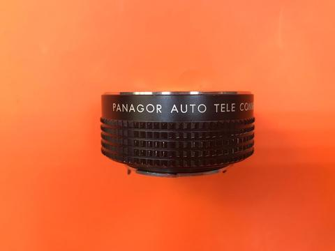 Panagor Auto Tele Converter 2 x 2x Konverter C-Y Y/C CONTAX / YASHICA комиссия
