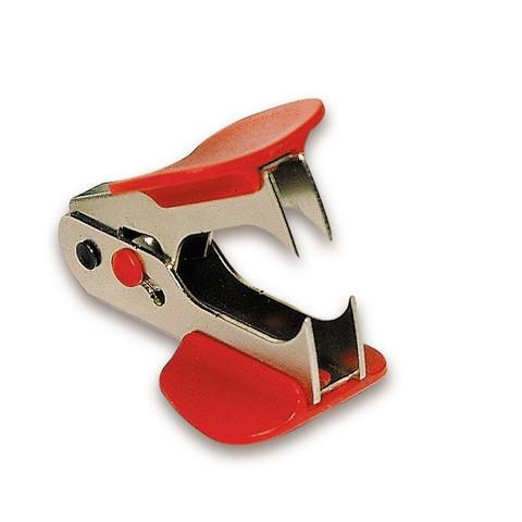 Анти-степлер SAX 700 для скоб №24/6,26/6, с фикс., красный