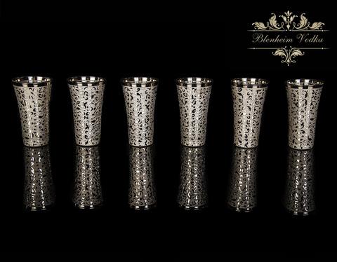 Набор для водки Blenheim на 6 персон (Платина)