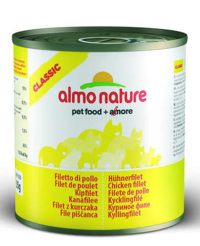 Консервы (банка) Almo Nature Classic Adult Cat Chicken Fillet