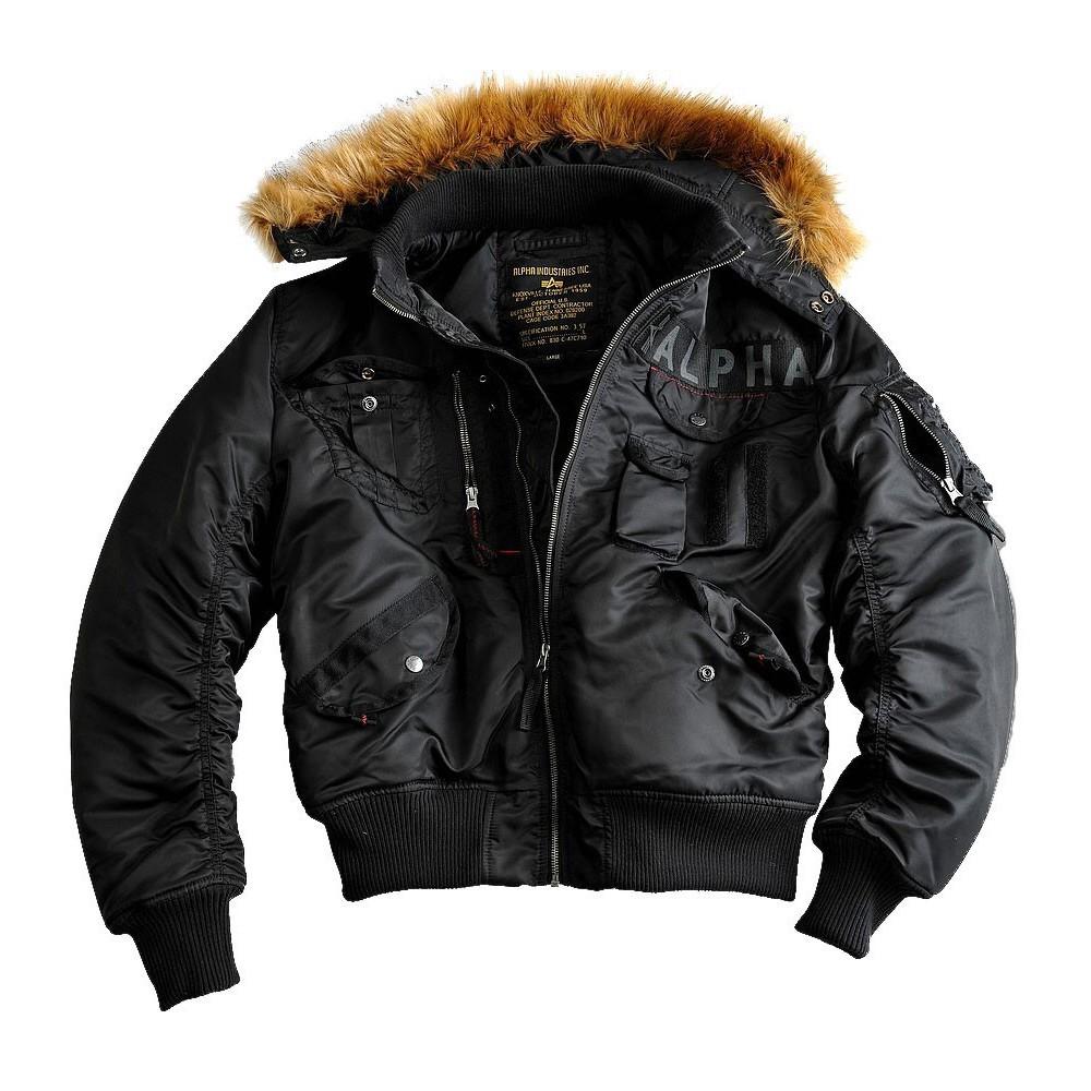 Куртка Мужская - Deflector (черная - black)