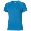 Мужская футболка для бега Asics Stripe SS (126236 0823) голубая